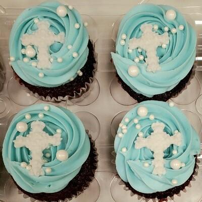 12 Cupcakes- Baptism/Communion