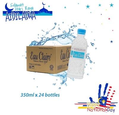 EAU CLAIRE 350ml x 24 bottles
