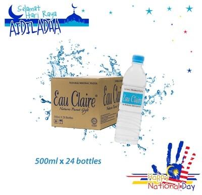 EAU CLAIRE 500ml x 24 bottles