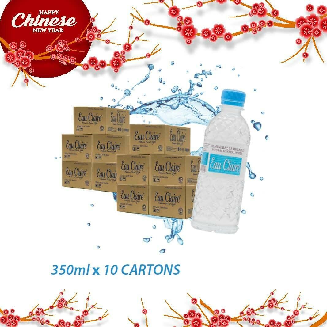 EAU CLAIRE 350ml x 10 cartons