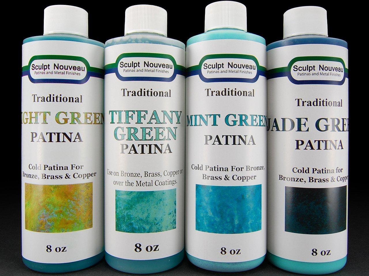Traditional Green Patinas 8 oz.