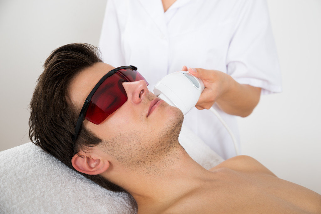 Mens Laser Hair Removal - 6 Treatments
