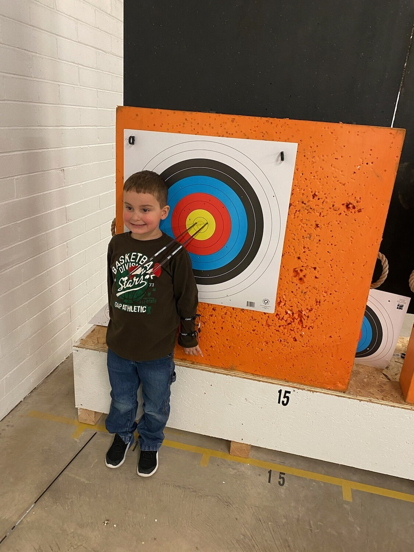 Single Try Archery Session