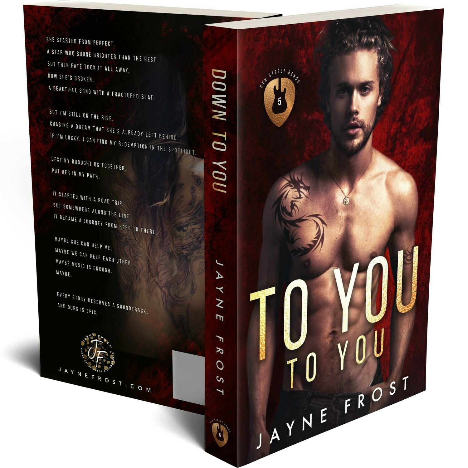 Down To You Signed Paperback