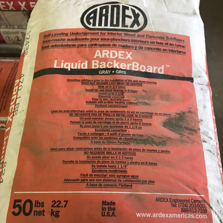 ARDEX Liquid BackerBoard - 50lb. Bag