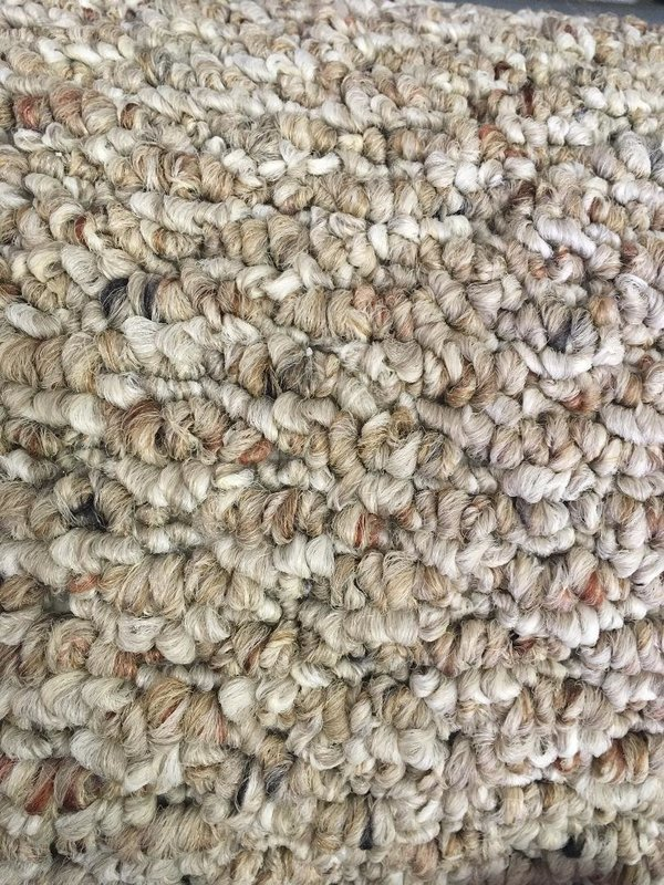 Carpet Remnant - Mohawk - Style: Calliope II - Color: Fawn - Size 12' x 9'