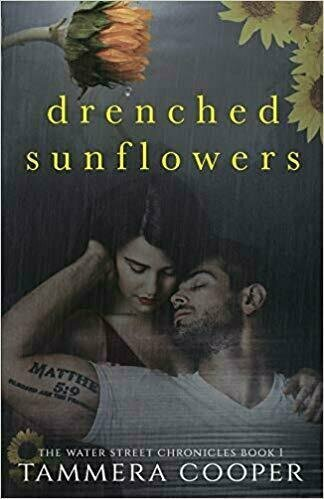Drenched Sunflowers - Book Cover Design