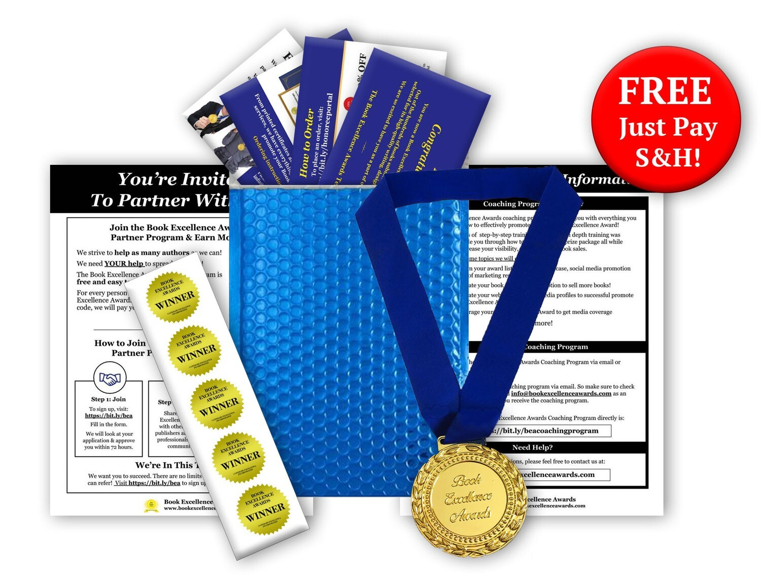 Honoree Welcome Package - FREE + $19.95 S&H