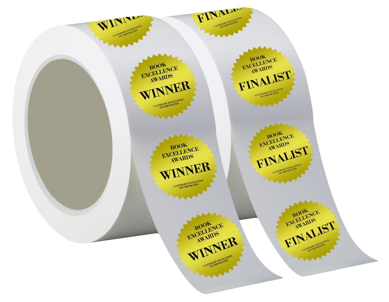 *NEW* 100 Award Stickers (Winner or Finalist) - $25.00