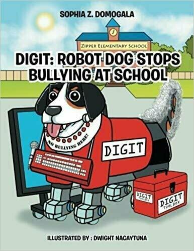 Digit: Robot Dog Stops Bullying At School  - Children's Education