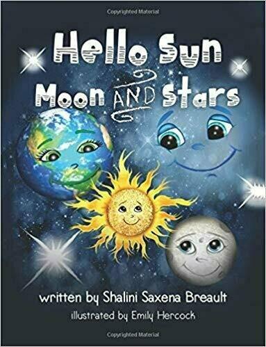 Hello Sun Moon and Stars - Children's Fiction