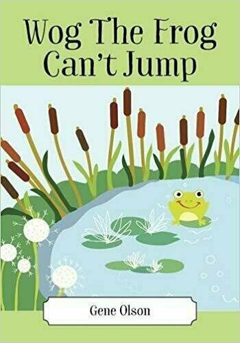 Wog The Frog Can't Jump - Children's Fiction