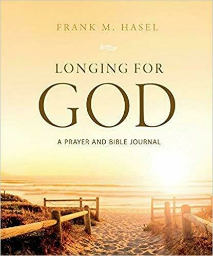 Longing for God: A Prayer and Bible Journal - Book Cover Design