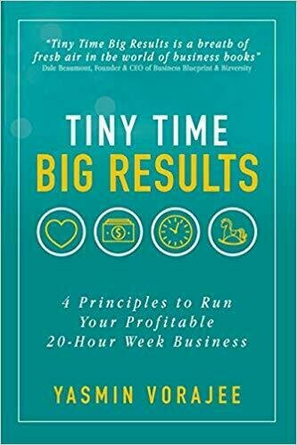 Tiny Time Big Results: 4 Principles to Run Your Profitable 20 Hour Week Business - Entrepreneurship