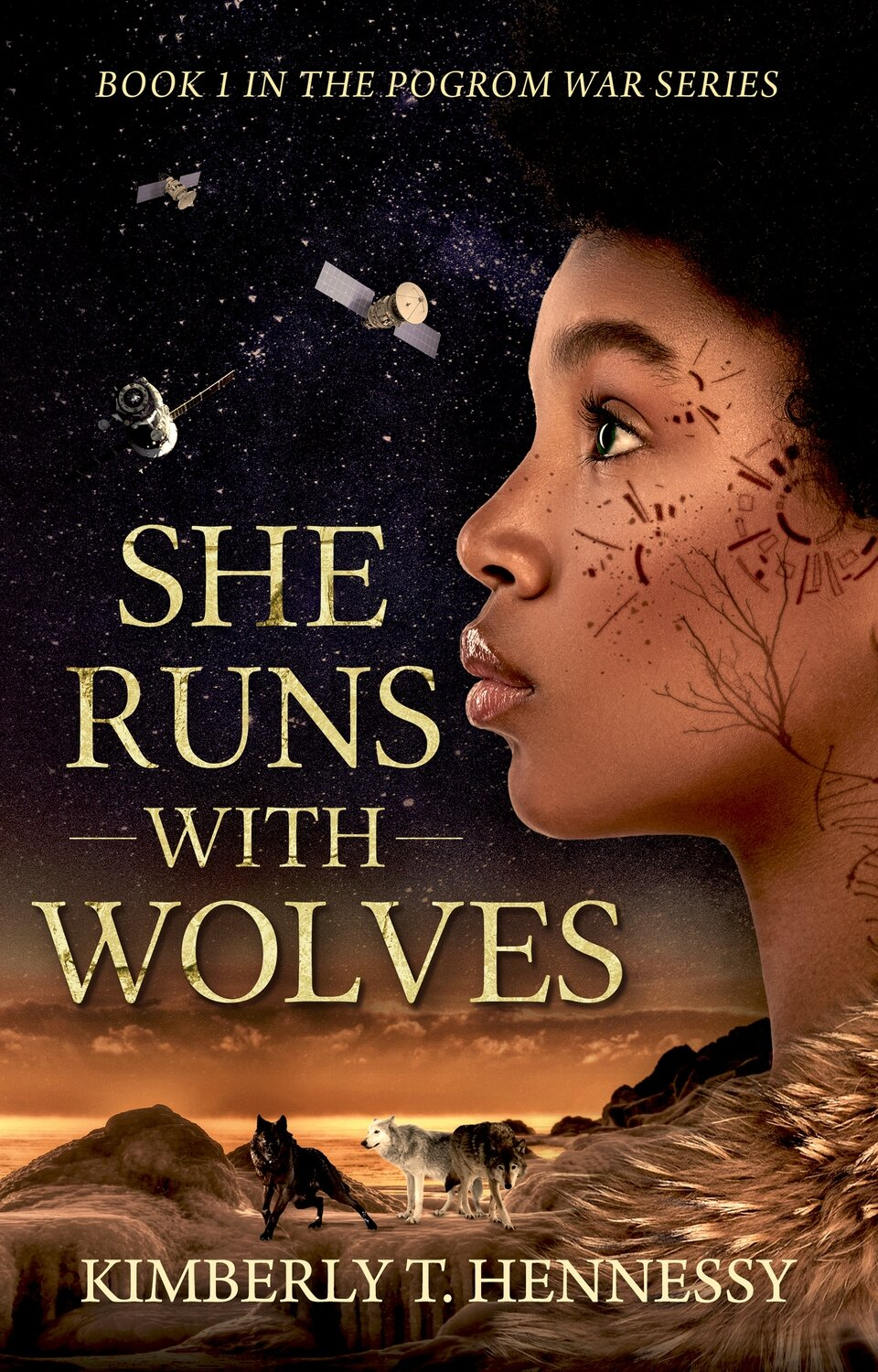 She Runs With Wolves - Fantasy