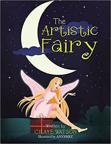 The Artistic Fairy  - Book Cover Design