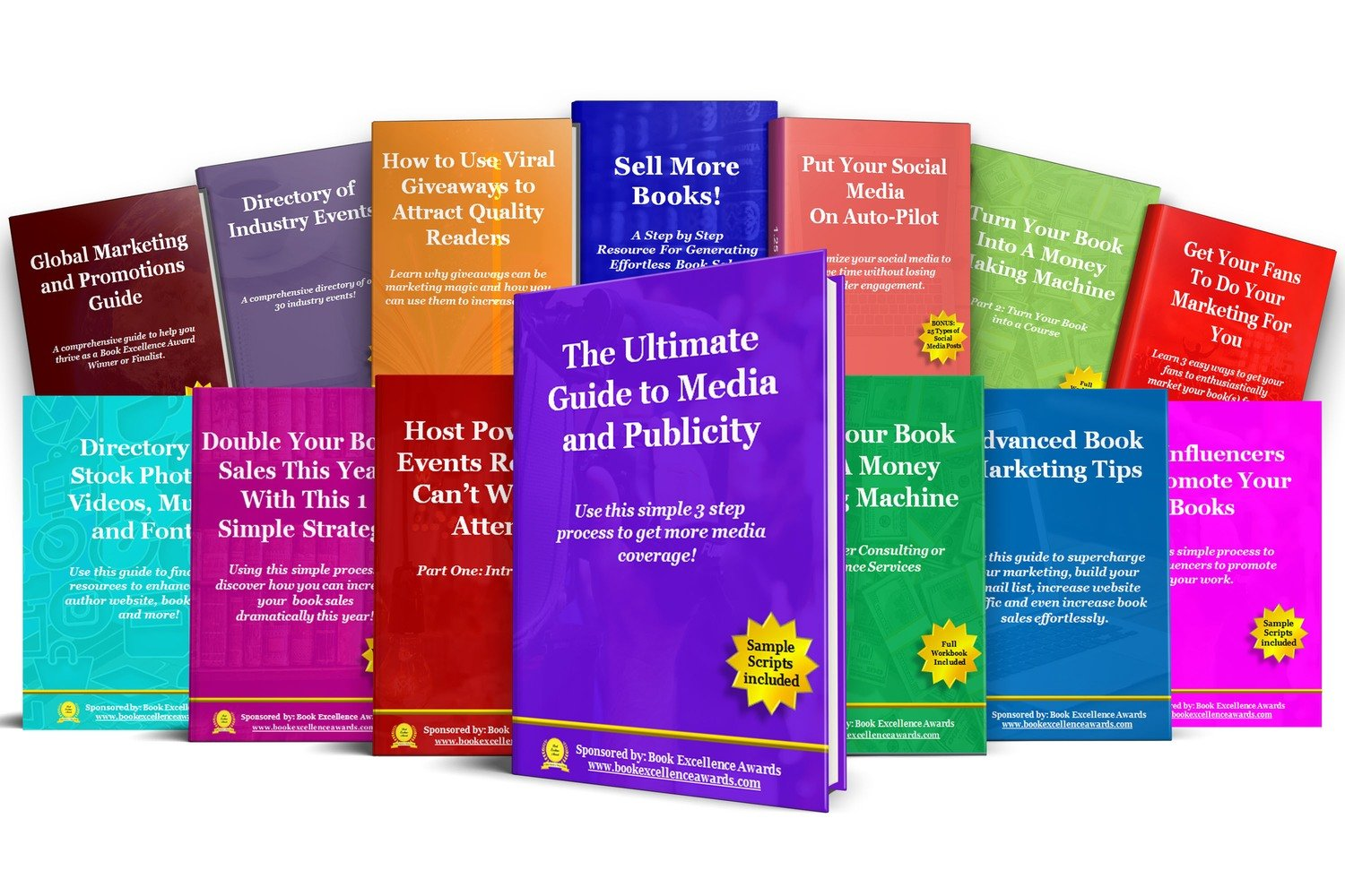 Access to a Library of Book Marketing Courses and Guides