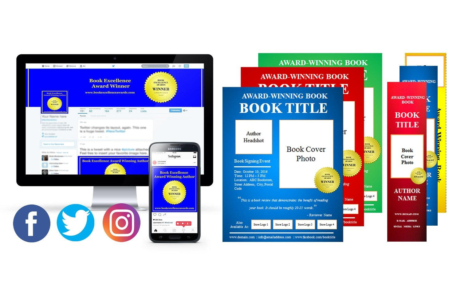 Done For You Templates For Print Materials and Social Media