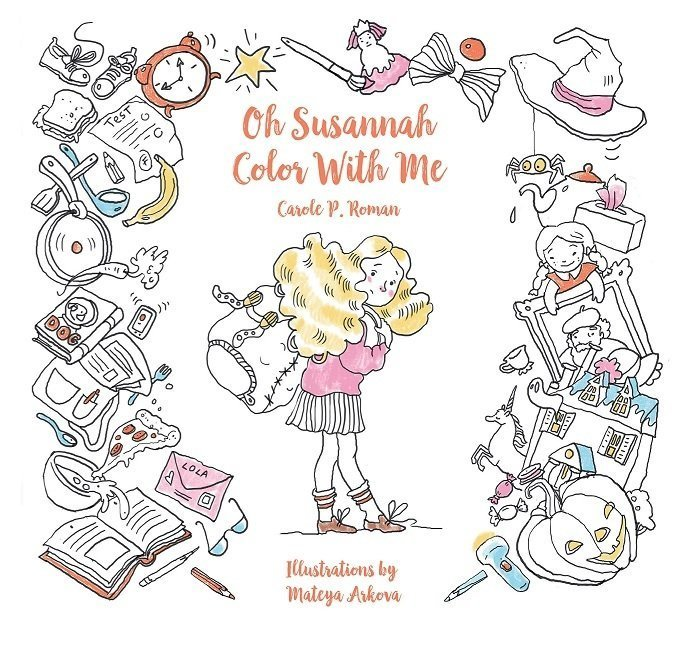 Oh Susannah: Color With Me - Coloring Book