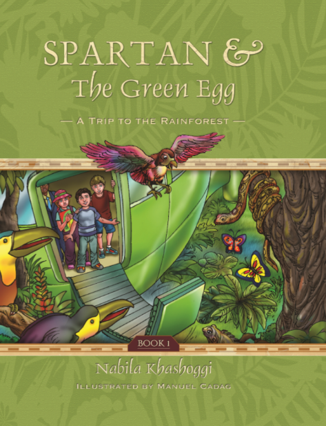 Spartan and the Green Egg: Book 1 A Trip to the Rainforest - Comics and Graphic Novels