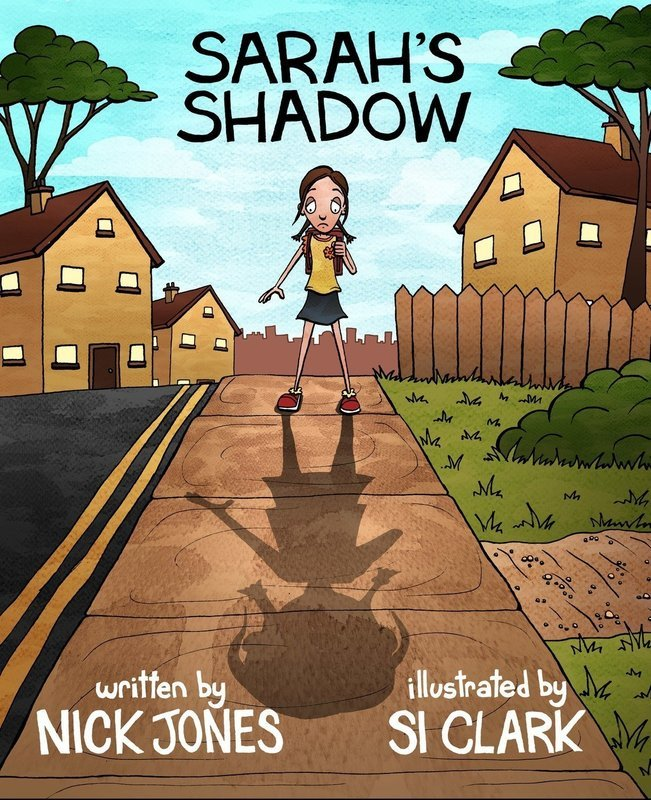 Sarah's Shadow - Picture Book, Ages 4-8