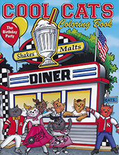 Cool Cats Coloring Book: The Birthday Party - Coloring Book