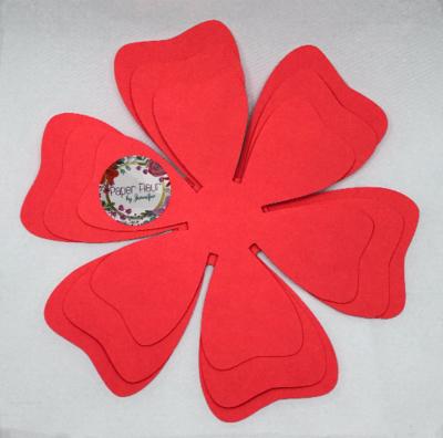 Mini Paper Flower Template
