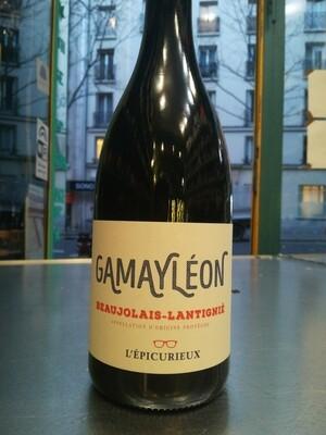L'Epicurieux (AOC Beaujolais Lantignié) - Gamayléon - 100% Gamay Nature Biodynamique - 75cl