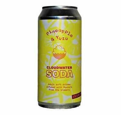Cloudwater - Soda - Ananas & Yuzu - 44cl