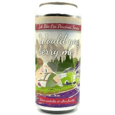 The Piggy Brewing Company - Would You Berry Me? - 44cl