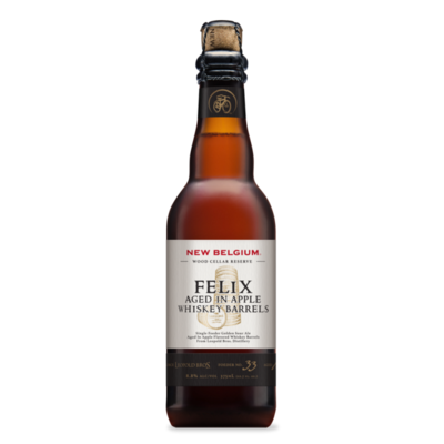 New Belgium Brewing Company - Felix (Aged in Apple Whiskey Barrels) - 37,5cl
