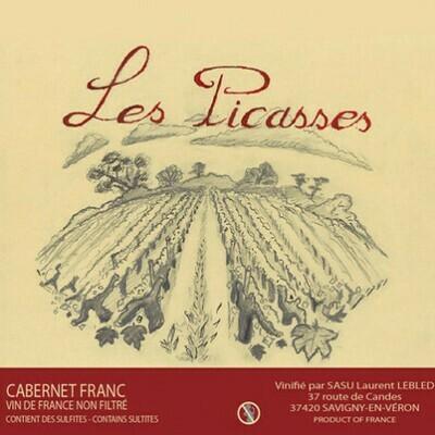 Domaine Laurent LEBLED (Vallée de la Loire) - Les Picasses 2016 - Cabernet Franc Bio Nature 75cl