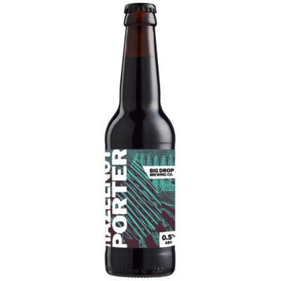 Big Drop Brewing Co - Hazelnut PORTER (noisette) - 33cl 0,5% ABV
