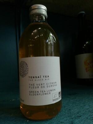 Tensaï Tea - Thé vert citron & fleur de sureau - thé glacé BIO - 33cl