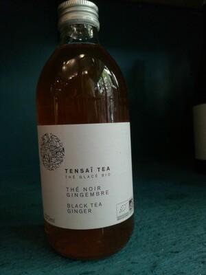 Tensaï Tea - Thé noir gingembre - thé glacé BIO - 33cl