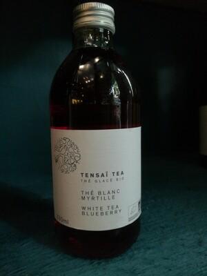 Tensaï Tea - Thé blanc myrtille - thé glacé BIO - 33cl