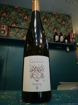 Geschickt - Riesling 2017 - Vin d'Alsace - blanc sec nature 13,5% - 75cl