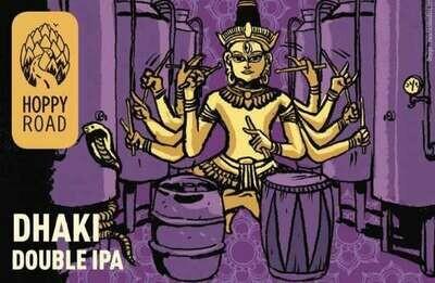 Hoppy Road (FR) - Dhaki - Double IPA - 8% - 33cl