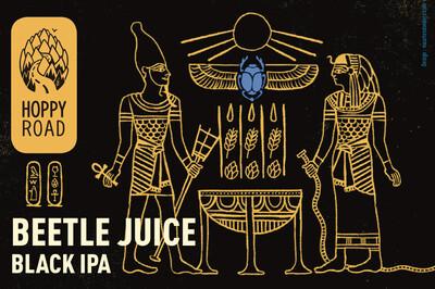 Hoppy Road (FR) - Beetle Juice - Double Black IPA - 8% - 33cl