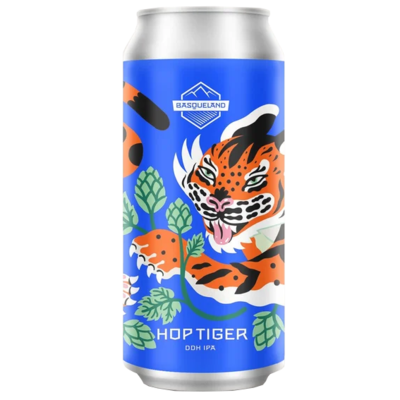Basqueland Brewing - Hop Tiger DDH IPA - Canette 44cl