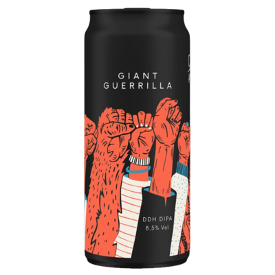 CR/AK Brewery - Giant Guerilla - Canette 40cl