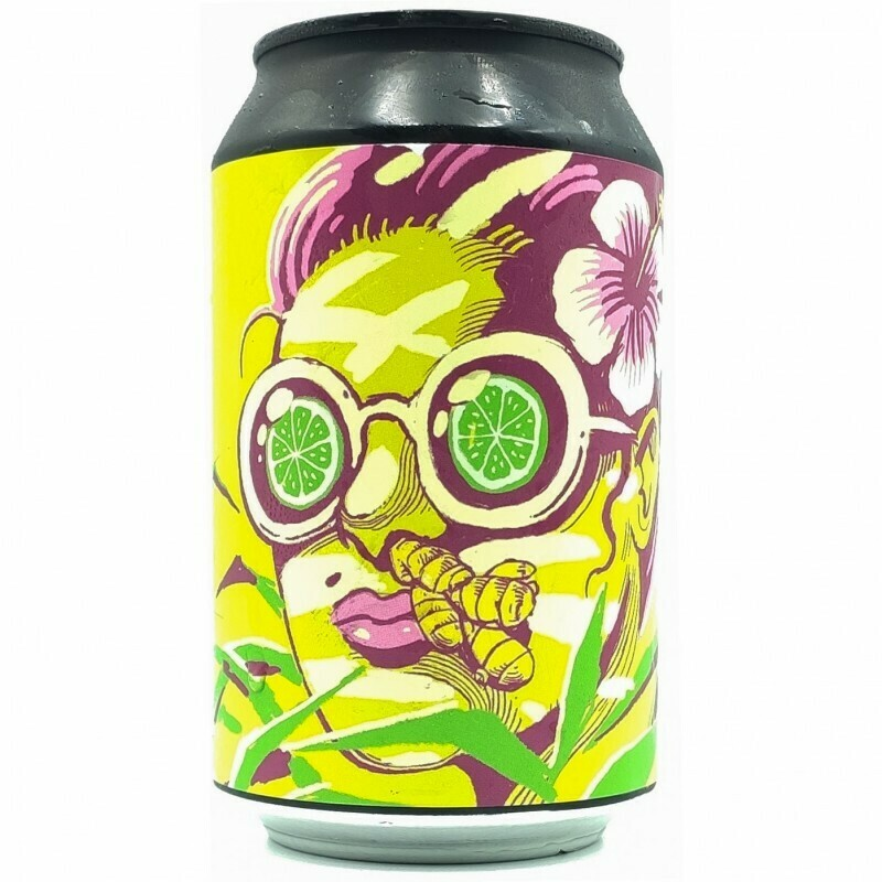 Hoppy Road - Ginger in the Nose - Berliner Weisse hibiscus lime gingembre (3,5%)