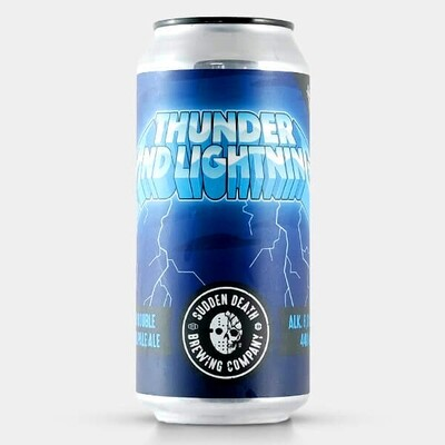Sudden Death Thunder and Lightning 44cl CANS