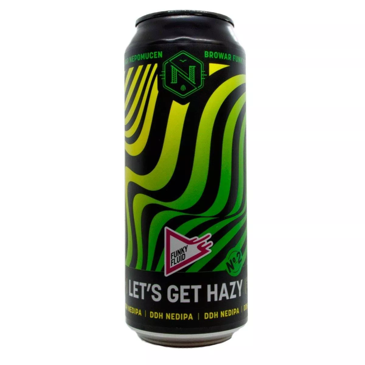 Funky Fluid Let's Get Hazy No. 2 CANS 50cl