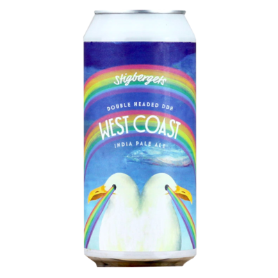 Stigbergets Double Headed DDH West Coast IPA CANS 44cl
