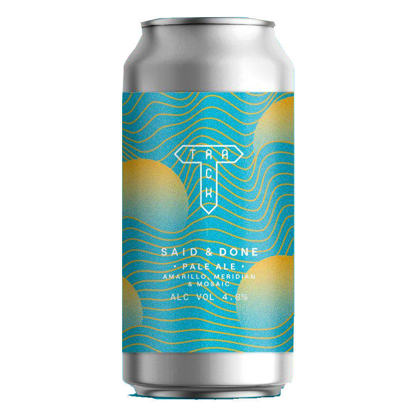 Track - Said & Done 4,8% - Canette 44cl: 7.80€