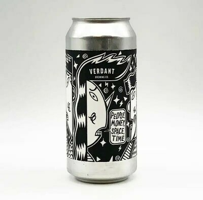 Verdant - People Money Space Time 3,8% -  Canette 44cl