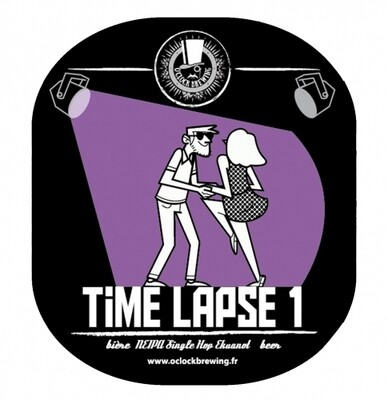 O'clock Brewing (FR) - Time Laspe #1 (NEIPA  - 6,5%) - bouteille 75cl