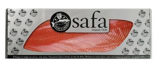 [Précommande 2 à 6 jours] Filet de Saumon fumé Atlantique Bio prétranché (400 gr) - Fumaison artisanale SAFA 1926 (Montreuil)