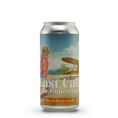 Piggy Brewing - Last Call for Lupulin Island - Double New England IPA - 8% - Canette 44cl